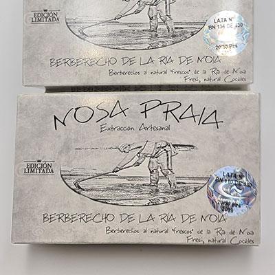 Berberecho Noia RR125 al natural 20/30PZS, edición limitada, latas numeradas