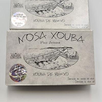Xouba de Rianxo RR125 12/15PZS pesca artesanal, edición limitada